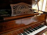 "V.Gevaert grand player piano with rolls ""Humanola"""