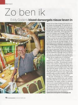 Eddy Goderis in Plus Magazine